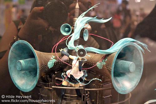 Vocaloid statue