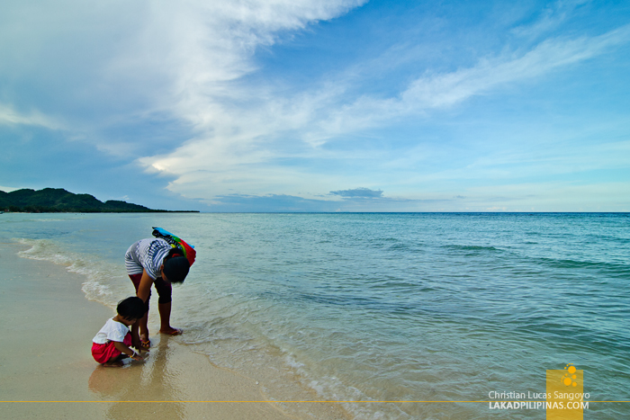 Afternoon at Quinale Beach in Anda, Bohol