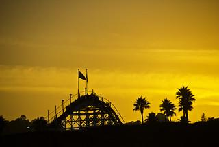 Santa Cruz Roller Coaster