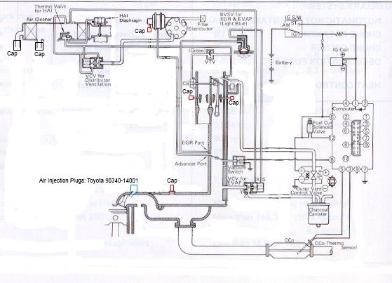 toyota fj cruiser engine bay
