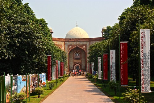 entry to Humayun's Tomb