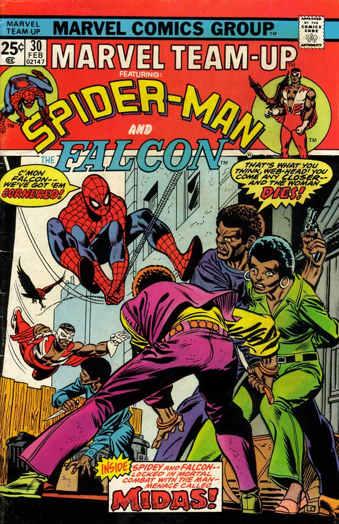 Marvel Team-Up 30 Gil Kane cover