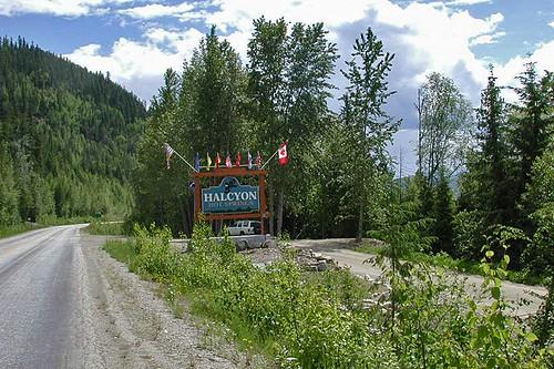 Halcyon Hot Springs, Nakusp, Upper Arrow Lake, West Kootenays, British Columbia