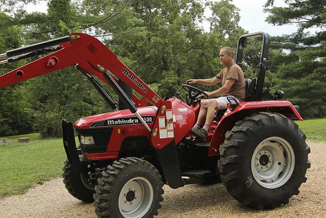 New Mahindra Tractor