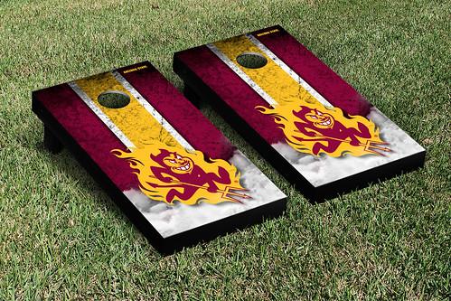 Arizona State ASU Sun Devils Cornhole Game Set Vintage