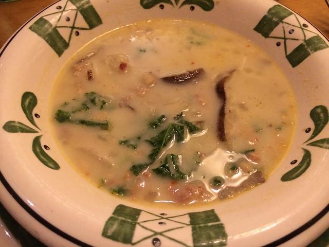 Zuppa toscana - Olive Garden