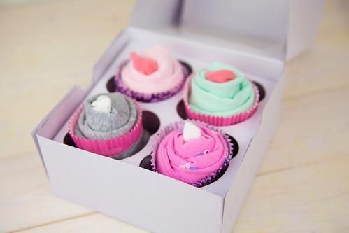 Onesie Cupcake Baby Gift #SavingsCatcher