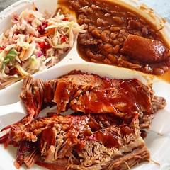 My lunch yesterday in Huntsville, Alabama. Chuckwa…