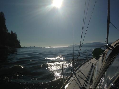 Entering English Bay