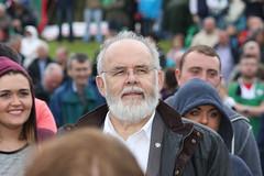 Francie Molloy MP at Hungerstrike Rally