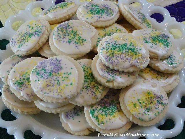 Mardi Gras Vanilla Sugar Cookies 5