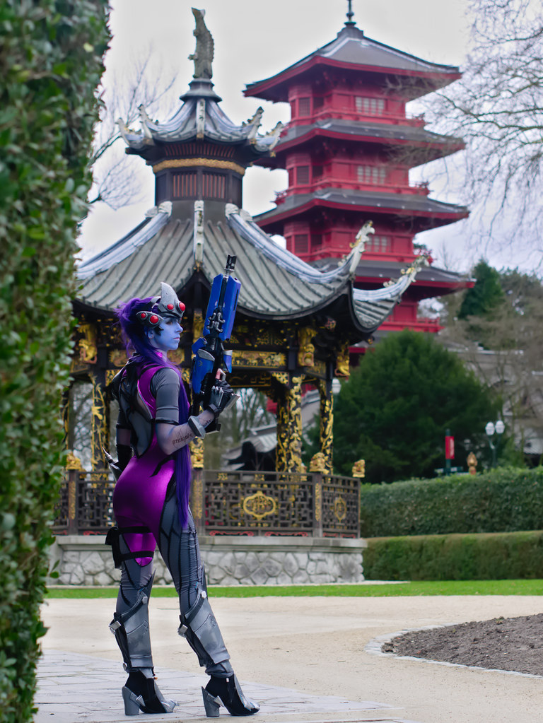 related image - Shooting Fatale - Overwatch - Enaelle's Arts - Bruxelles -2017-03-03- P2010071