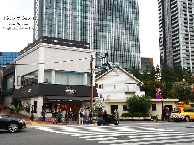 日本東京自由行賞櫻canal cafe水上餐廳 (1)