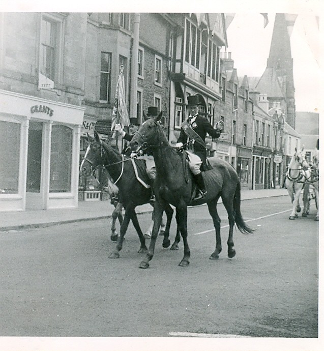 Riding of the Marches, Peebles