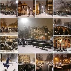 Winter nights in Amsterdam