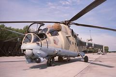 Mi-24V 0836, Plzen-Line, Sept 8, 1993