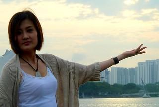 Vicky Yuan at Kallang River Singapore