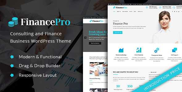 FinancePro WordPress Theme free download
