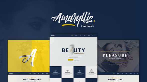 Amaryllis WordPress Theme free download