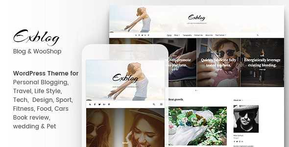 Exblog WordPress Theme free download