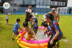 SISB Songkran celebrations 2017