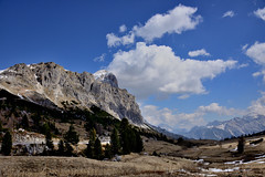 Falzarego, Dolomites, Italy