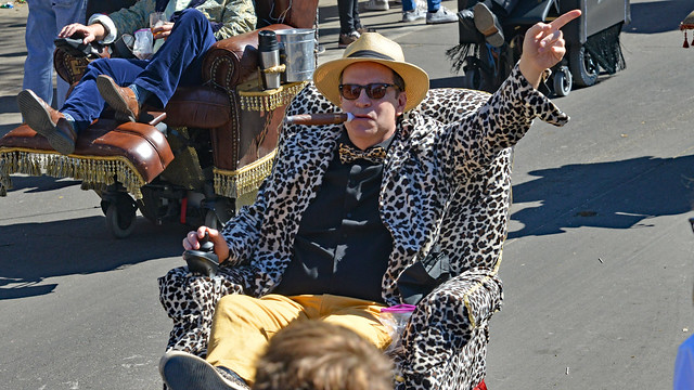 The Man in the Leopard Lounger