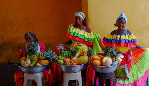 Costeño Fruit Vendors, Cartagena, Colombia
