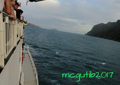 A shipping lane in between Busuanga and Coron Island known as Coron Passage