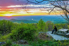 #enjoying #tonights #sunset and my #hardwork at the #overlook #lookout near my #house... #linden is #beautiful  #frontroyal #iseeyou  #winchester #youtoo #instafaves #hdr #lightroom #canon #70d