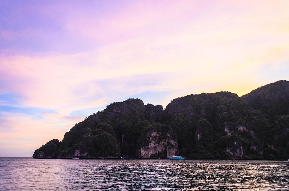Sunset over Ko Phi Phi Don