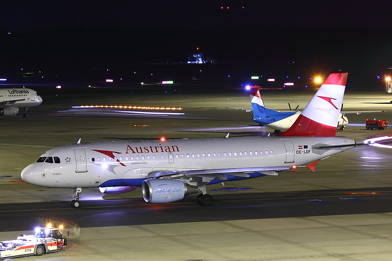 Austrian Airlines - A319 - OE-LDF (3)