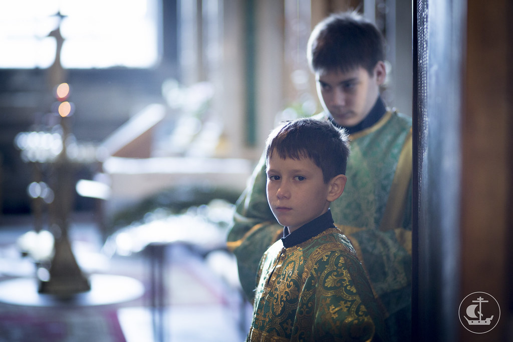 """13 апреля 2014, """"Детская"""" литургия в Исаакиевском соборе / 13 April 2014, """"Children's"""" Liturgy at St. Isaac's Cathedral"""