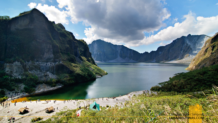 The Mt. Pinatubo Crater Lake