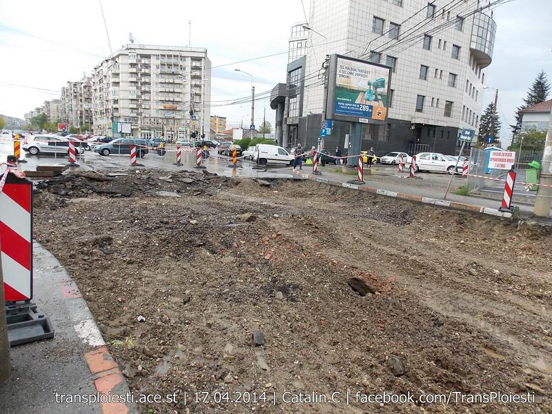 Traseul 101, etapa II: Intersecție Candiano Popescu ( zona BCR ) - Gara de Sud 13892621902_9ce8a76d5c_c