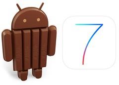 Kit Kat and iOS7