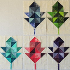 Five Oak Leaf Blocks