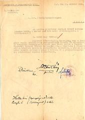 IV/3.b. Az Egerben állomásozó német tábori kórház kérelme ingóságok kiadása iránt, és annak elintézése 1944. október 13-án.