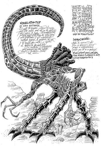 005-Necronomicon ilustrado-Lluïsot