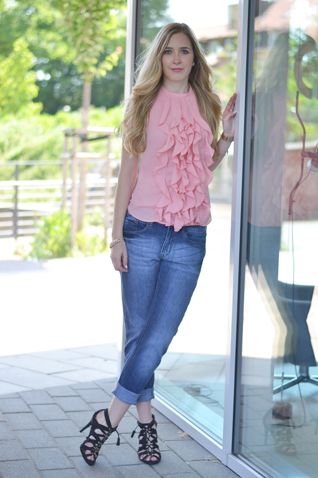 Outfit How to style Boyfriendjeans (2)