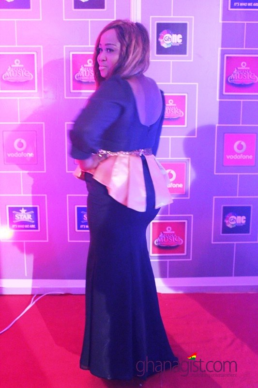 Mimi Divalish at 2014 Ghana Music Awards