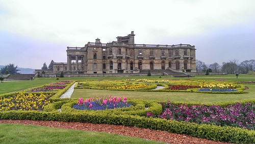 The East Parterre at Witley Court