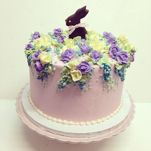 Easter cake #polkadotscupcakefactory