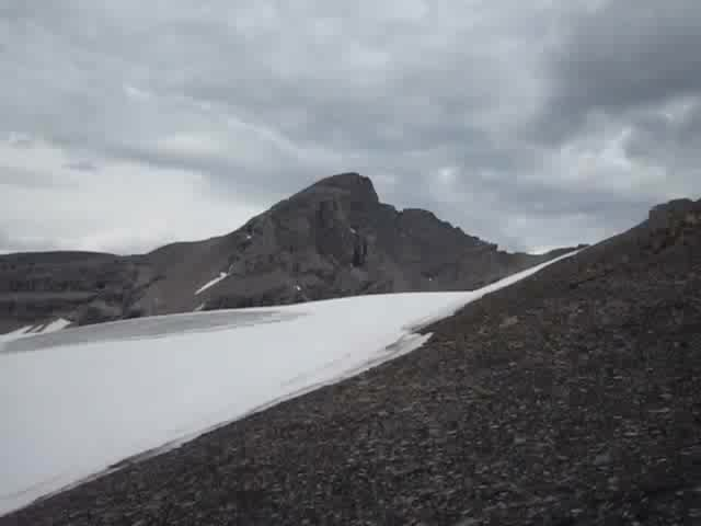 0471 Video panorama of Bonnet Peak and the Bonnet Glacier