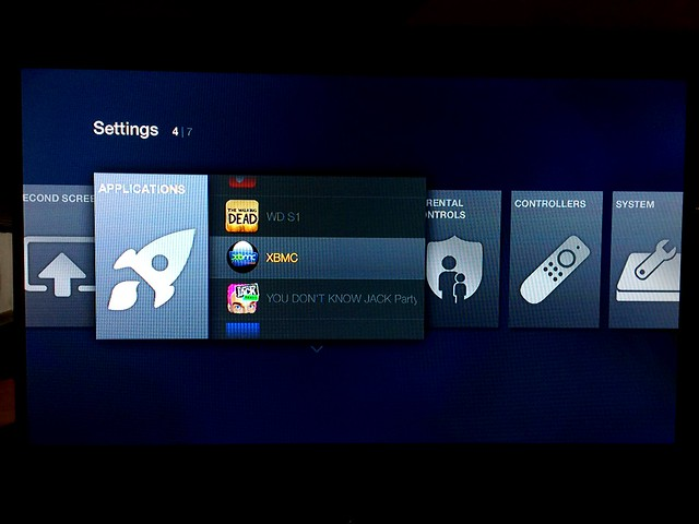 XBMC successfuly loaded onto Amazon Fire TV