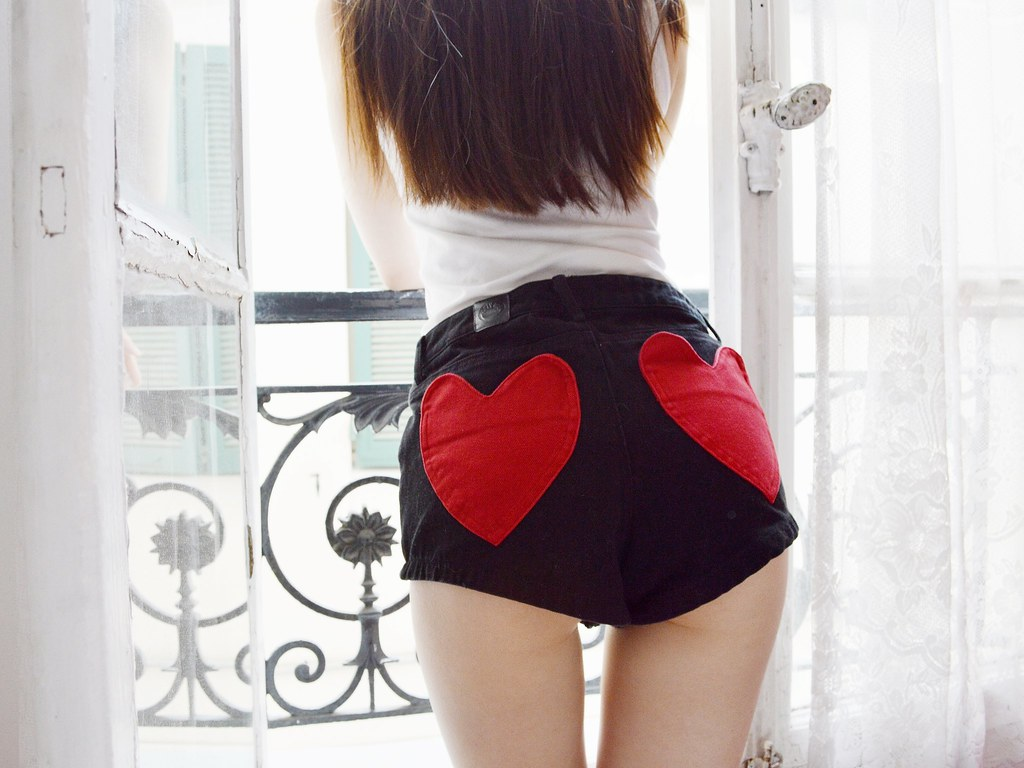 Heart shaped pockets_Shorts_Lazy Oaf_Spring 2013