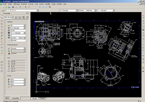 Logiciel professionnel gratuit DraftSight® Fr 2014 licence gratuite CAO 2D professionnelle dans 100 Gratuit 13964368948_f36c76b4ce