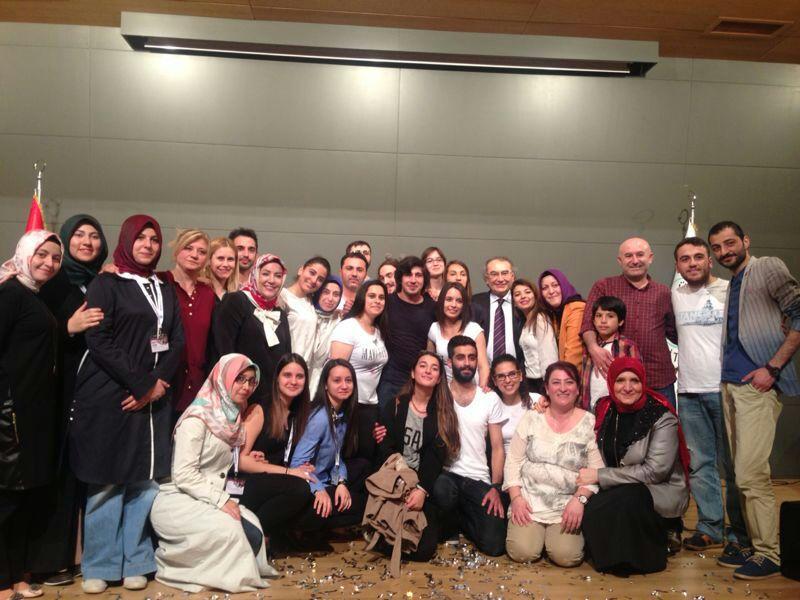 Başarılı yetimler Üsküdar Üniversitesi'nin ev sahipliğinde ödüllendirildi