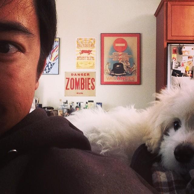 Yah. I took a selfie with #bearewhite