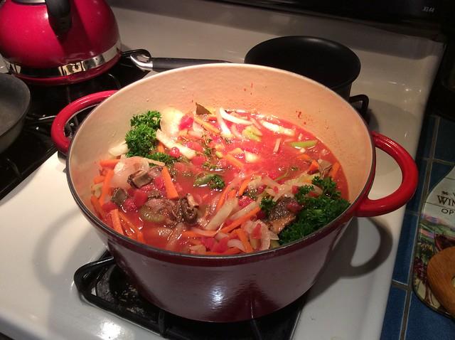 Fancy Fisherman Stew